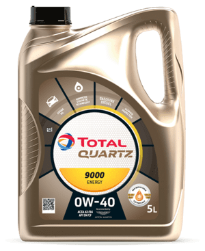 MOTOR OIL TOTAL QUARTZ 9000 ENERGY 0W-40