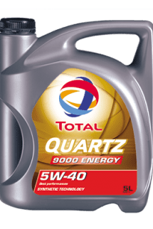 TOTAL QUARTZ 9000 ENERGY 5W40 engine oil