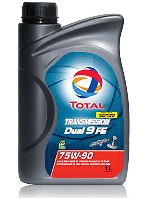 TRANSMISSION OIL TOTAL TRANSMISSION DUAL 9 FE 75W-90