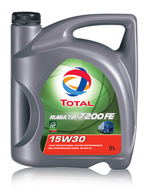 TOTAL RUBIA TIR 7200 FE 15W-30 ENGINE OIL