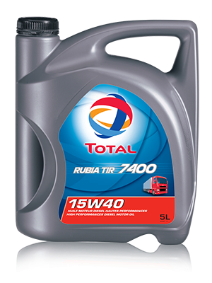 Engine oil total Rubia TIR 7400 15W-40